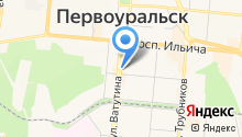 Стрекоза на карте