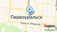 Чайкоffский на карте