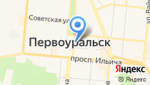 Уральские Пельмени на карте