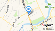 BeNT на карте