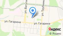 Эльбрус на карте