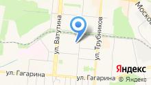 Отдел Управления ФСБ РФ по Свердловской области в г. Первоуральске на карте