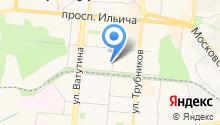 ОВИМЭКС на карте