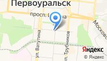 Асоль на карте