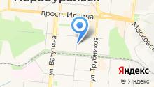 Риэлт-сервис на карте