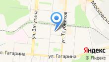 Детский сад №44 на карте