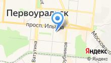 УРАЛ-М на карте