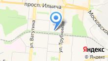 Специальная (коррекционная) общеобразовательная школа на карте