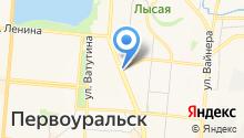 Лина на карте