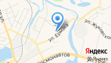 Автеп на карте