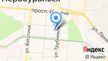 Дюжонок на карте
