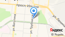 ЛОРИ на карте