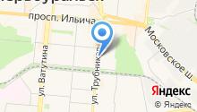 Афоня на карте
