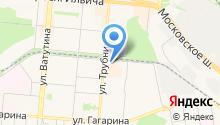 Результат на карте