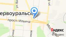Уральский государственный горный университет на карте