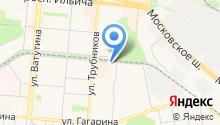 Русский салют на карте