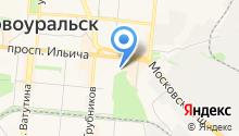Первоуральская типография, ПАО на карте