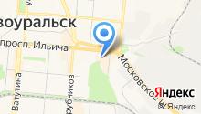 Форт-Пост на карте