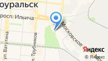 Axcent на карте