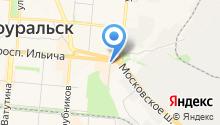 Айsун на карте