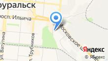 Управление Федеральной службы РФ по контролю за оборотом наркотиков по Свердловской области на карте