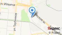 Уральский деревообрабатывающий промышленный холдинг на карте