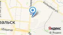 Первоуральск на карте