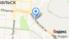 Магазин печного оборудования на карте