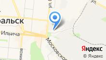 Капель на карте