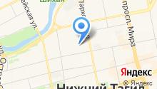 Арина Родионовна на карте