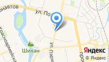 Авто Форсаж на карте