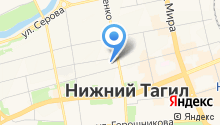 Автокореец на карте