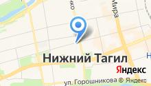 Расчетный центр Урала на карте