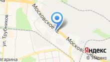 Washcar на карте
