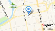 А-ЭМ-ДЖИ на карте