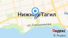 Администрация г. Нижнего Тагила на карте