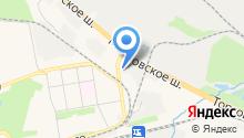 Анта на карте