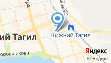 Автобусы Тагила на карте