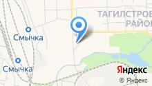 АЗС Уралконтрактнефть на карте
