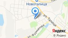 Актив Урал на карте
