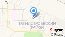 Антикор на карте