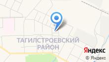 Администрация Тагилстроевского района на карте