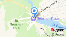 ГОРА ПИЛЬНАЯ на карте