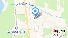 Азовский на карте