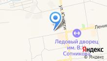 АЗС Авангард на карте