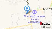RENI на карте