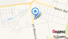 Ассоциация учащейся молодежи Дзержинского района на карте