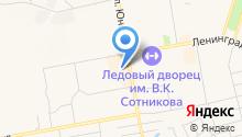 Modes на карте