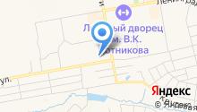 Алтайский на карте