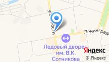 Б/Ушка на карте